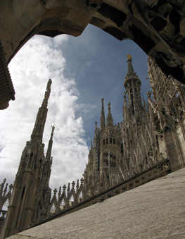 Cathedral in Milano